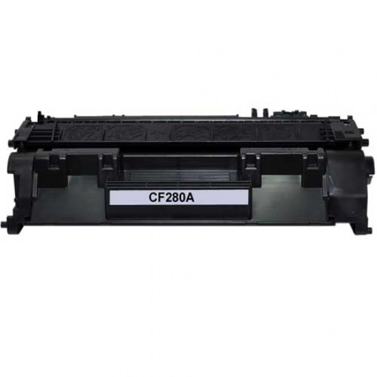 6 Black 80A CF280A Toner Cartridge Replacement for HP Laserjet Pro 400 M401n M401dw M401dne M401dn MFP M425dn Printer,Sold by TopInk
